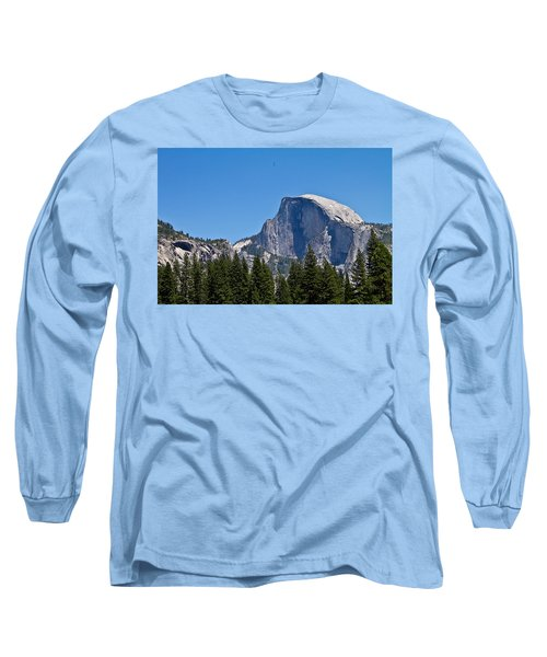 Half Dome Long Sleeve T-Shirt by Brian Williamson
