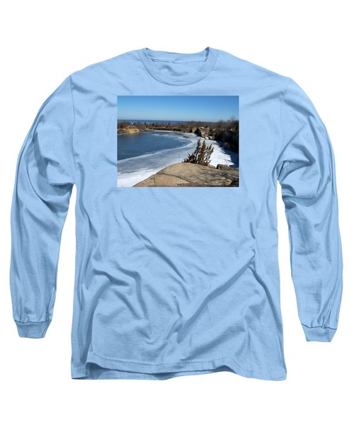 Icy Quarry Long Sleeve T-Shirt by Catherine Gagne