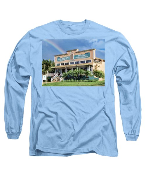 Long Sleeve T-Shirt featuring the photograph Haliimaile General Store 1 by Dawn Eshelman