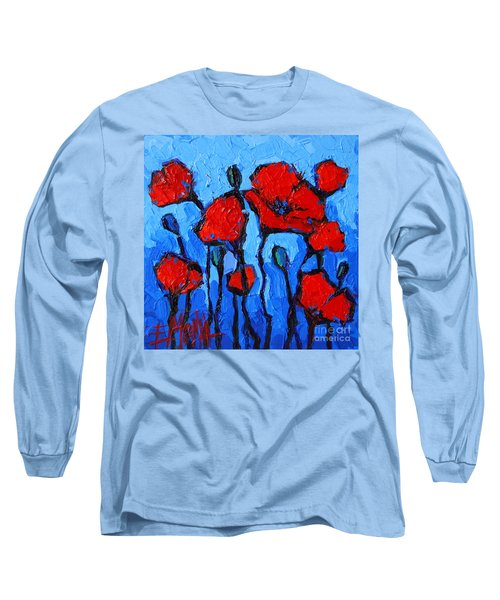 Happy Coquelicots Long Sleeve T-Shirt