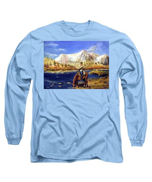 Happy Trails Long Sleeve T-Shirt