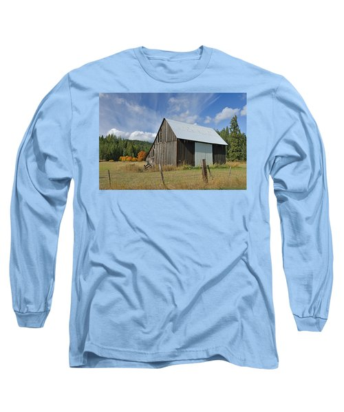 Hardy Creek Road Barn Long Sleeve T-Shirt