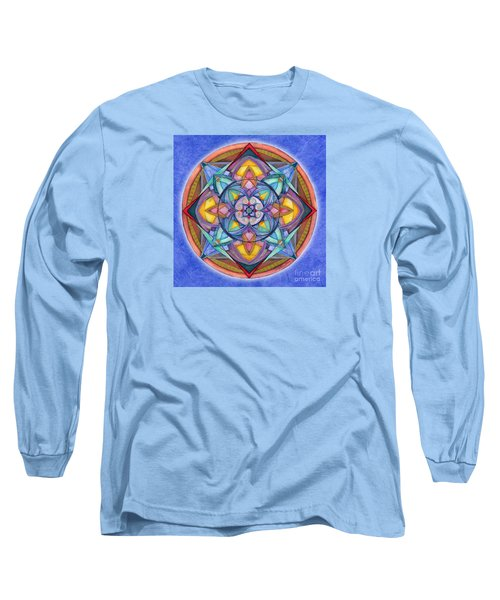 Harmony Mandala Long Sleeve T-Shirt