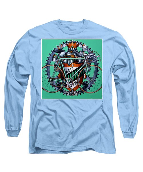 Long Sleeve T-Shirt featuring the painting Harry Quinn by Mark Howard Jones