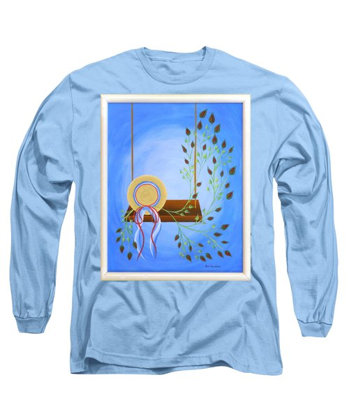 Hat On A Swing Long Sleeve T-Shirt
