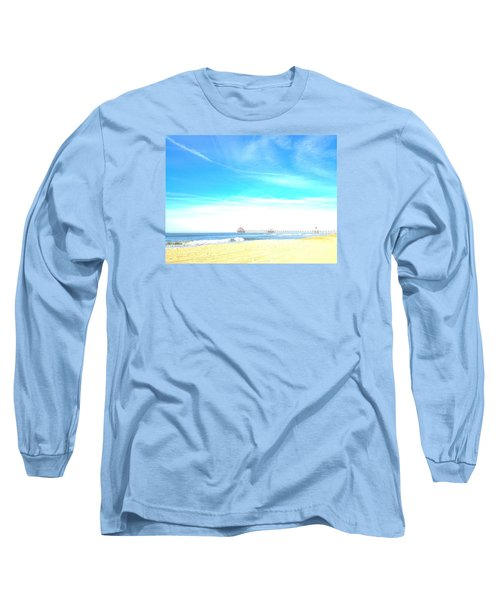 Hb Pier 7 Long Sleeve T-Shirt by Margie Amberge