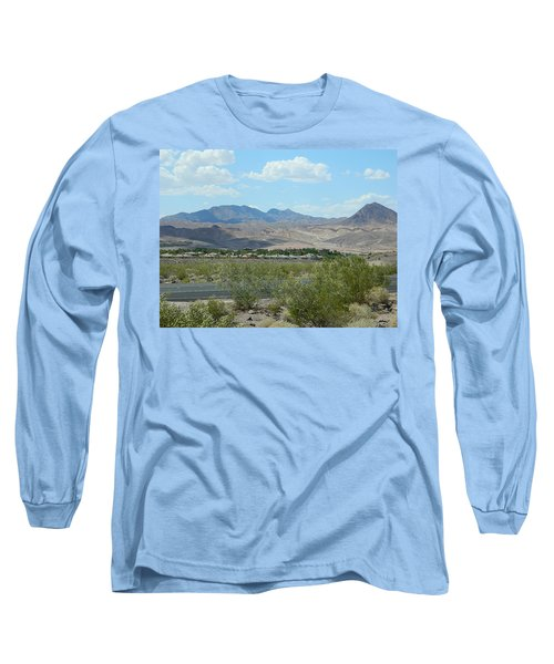 Long Sleeve T-Shirt featuring the photograph Henderson Nevada Desert by Emmy Marie Vickers