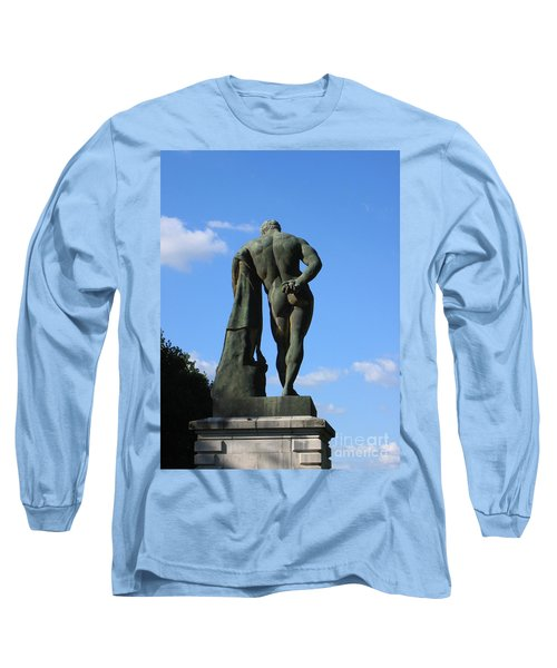 Long Sleeve T-Shirt featuring the photograph Hercules  by HEVi FineArt