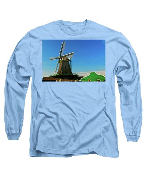 Long Sleeve T-Shirt featuring the photograph Het Jonge Schaap by Jonah  Anderson