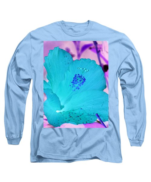 Hibiscus - After The Rain - Photopower 760 Long Sleeve T-Shirt