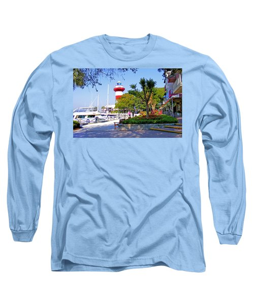 Hilton Head Lighthouse Long Sleeve T-Shirt