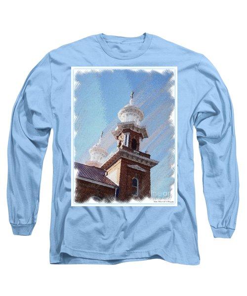 Historic Church Steeples Long Sleeve T-Shirt