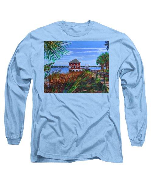 Historic Ormond Boathouse Long Sleeve T-Shirt