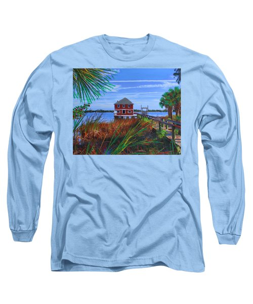 Historic Ormond Boathouse Long Sleeve T-Shirt