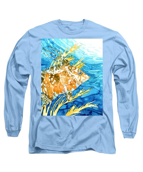 Hogfish Portrait Long Sleeve T-Shirt