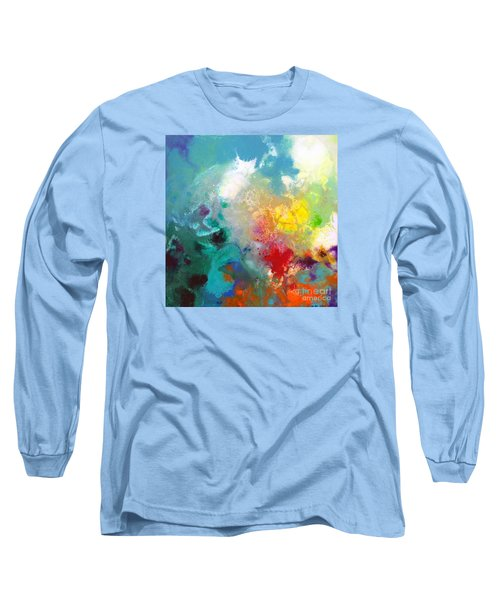 Holding The High Watch Canvas One Long Sleeve T-Shirt