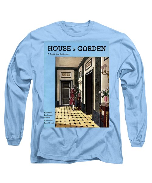 House And Garden Household Equipment Number Long Sleeve T-Shirt