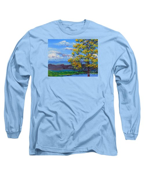 How Lovely Is Your Dwelling Place Long Sleeve T-Shirt by Dan Whittemore