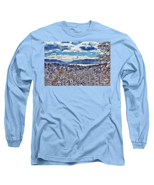 Hudson Valley First Snow Mystic Colors Long Sleeve T-Shirt