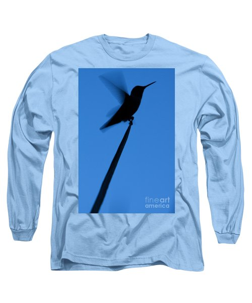 Hummingbird Silhouette Long Sleeve T-Shirt