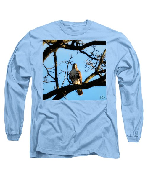 Long Sleeve T-Shirt featuring the photograph Hungry by Ally  White