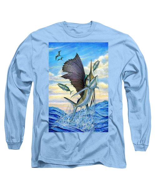 Hunting Of Small Tunas Long Sleeve T-Shirt