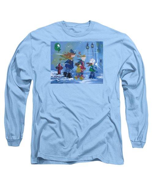 Hurry Home Long Sleeve T-Shirt by Terri Einer