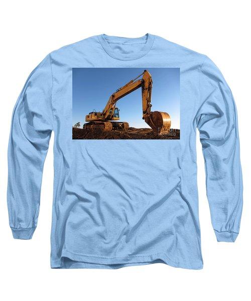 Hydraulic Excavator Long Sleeve T-Shirt