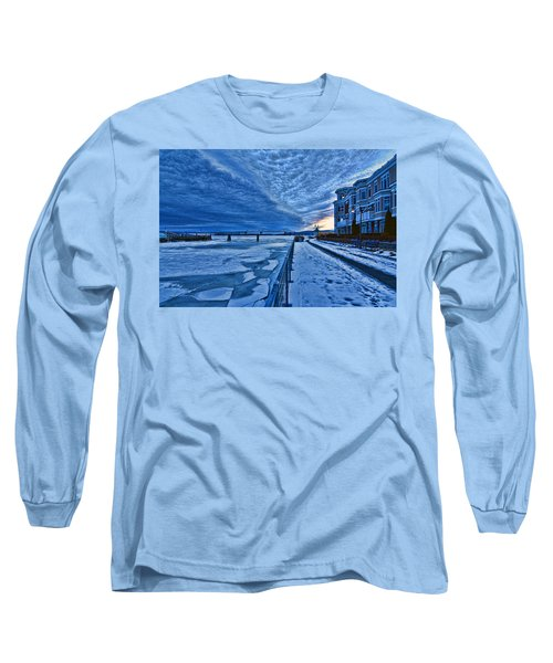 Ice Station Hudson Long Sleeve T-Shirt by Jeffrey Friedkin