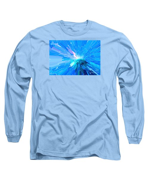 Long Sleeve T-Shirt featuring the photograph Ice Queen by Mariarosa Rockefeller