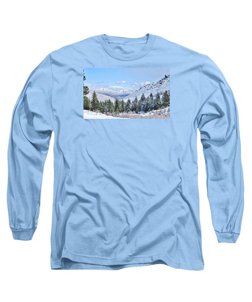 In The Canyon Long Sleeve T-Shirt by Marilyn Diaz