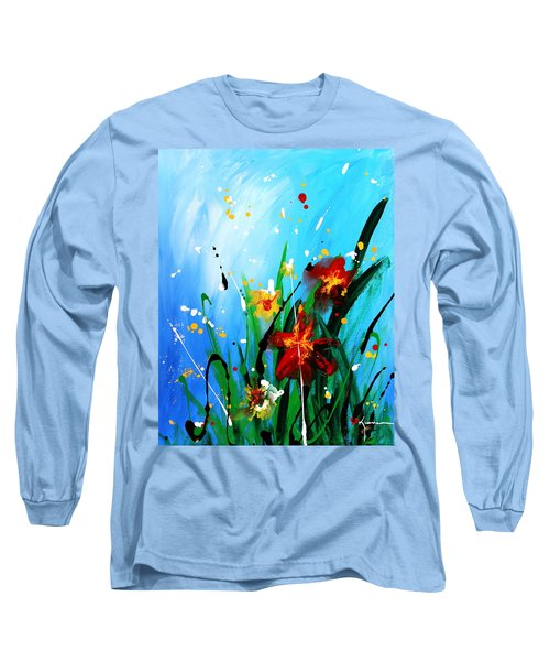 In The Garden Long Sleeve T-Shirt by Kume Bryant