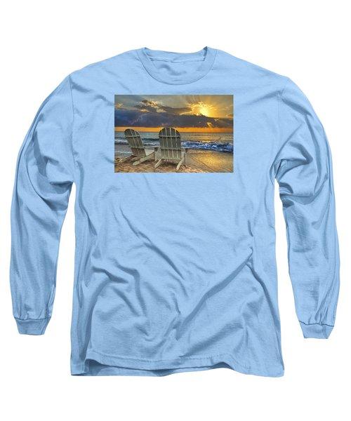In The Spotlight Long Sleeve T-Shirt by Debra and Dave Vanderlaan