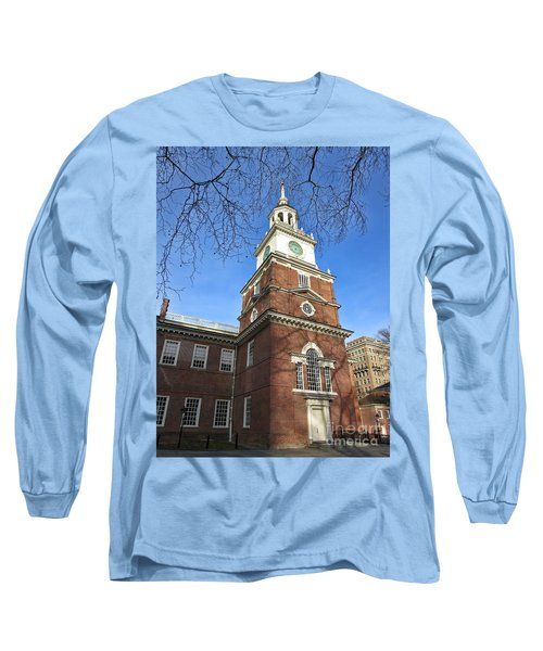 Independence Hall Bell Tower Long Sleeve T-Shirt