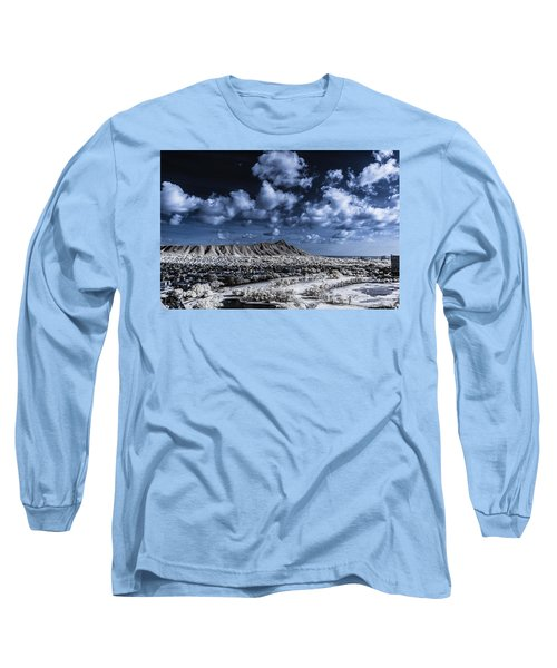 Infrared Diamond Head Long Sleeve T-Shirt