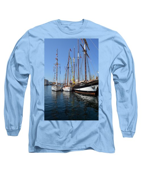 International Sailing Festival In Bergen Norway 2 Long Sleeve T-Shirt