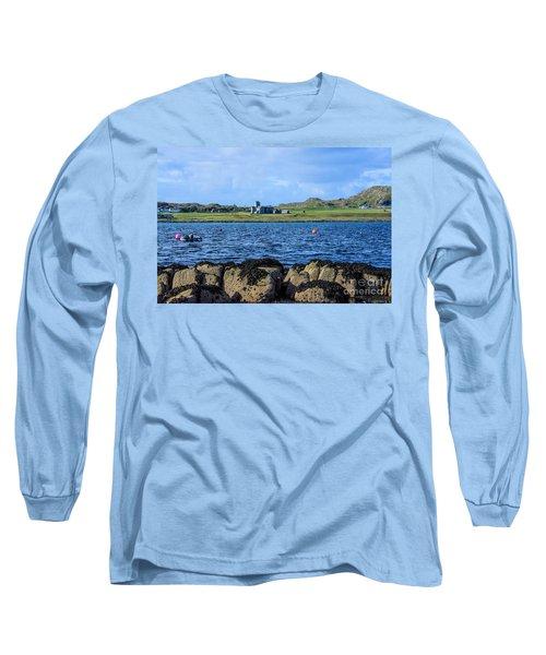 Iona Abbey Isle Of Iona Long Sleeve T-Shirt
