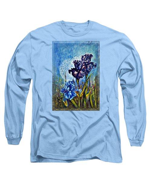 Iris Long Sleeve T-Shirt by Harsh Malik