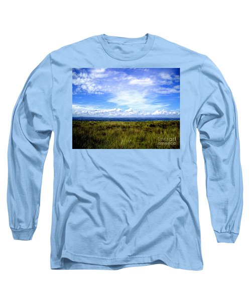Irish Sky Long Sleeve T-Shirt by Nina Ficur Feenan