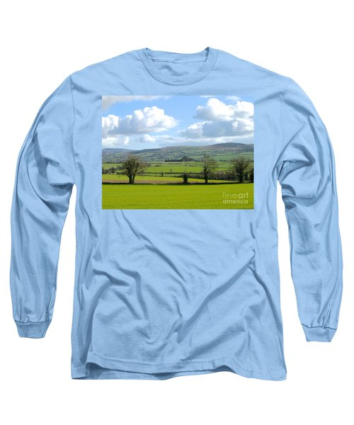 Long Sleeve T-Shirt featuring the photograph Irish Spring by Suzanne Oesterling