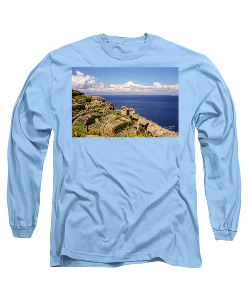 Long Sleeve T-Shirt featuring the photograph Isla Del Sol by Suzanne Luft
