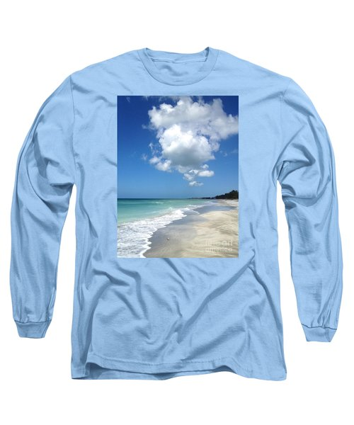 Island Escape  Long Sleeve T-Shirt by Margie Amberge