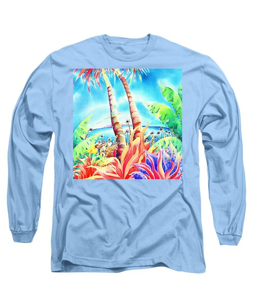 Island Of Music Long Sleeve T-Shirt