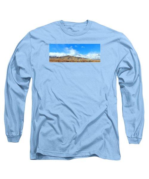 It Snowed Last Night Long Sleeve T-Shirt by Marilyn Diaz