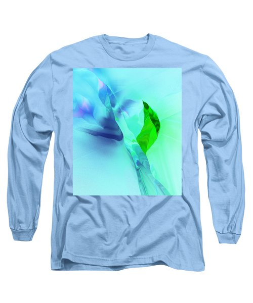 Long Sleeve T-Shirt featuring the digital art It's A Mystery  by David Lane