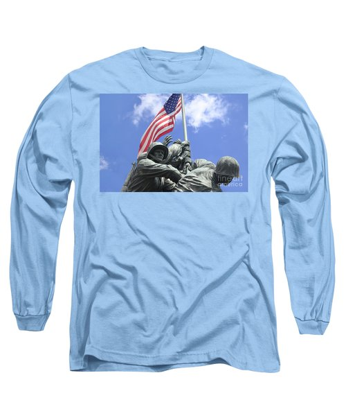 Iwo Jima Memorial Long Sleeve T-Shirt