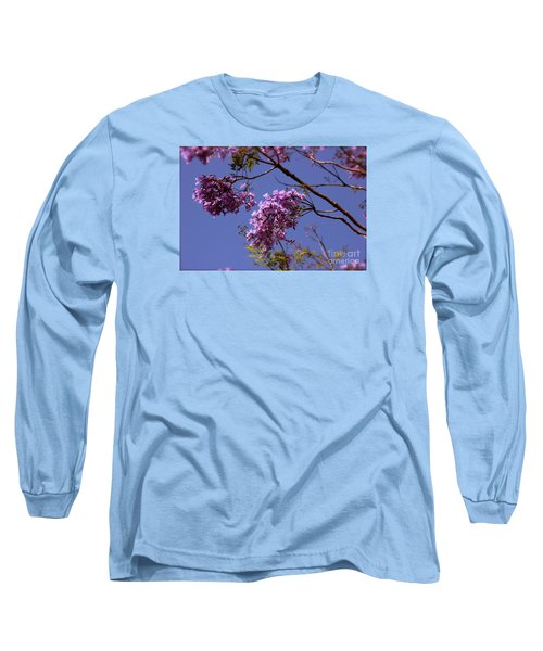 Jacaranda Blooms Long Sleeve T-Shirt