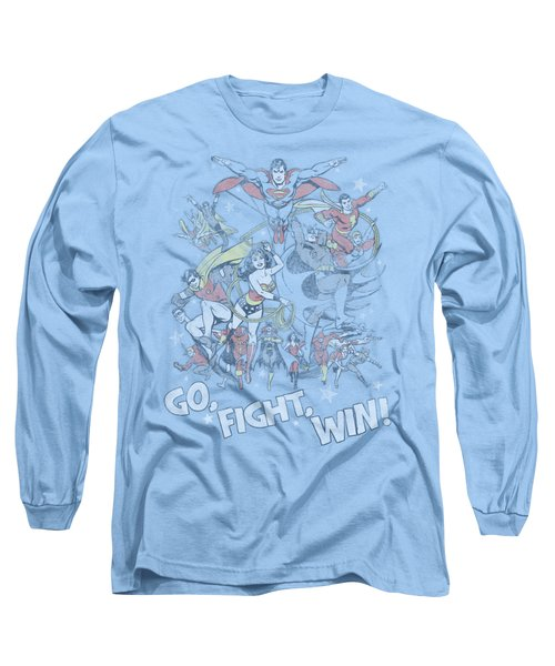 Jla - Go Fight Win Long Sleeve T-Shirt