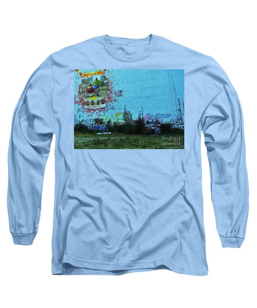 Long Sleeve T-Shirt featuring the photograph Joga Bonito - The Beautiful Game by Andy Prendy