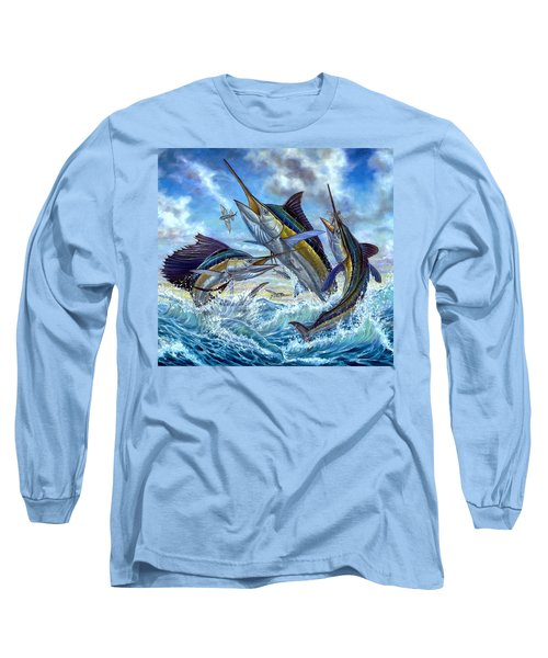 Jumping Grand Slam And Flyingfish Long Sleeve T-Shirt